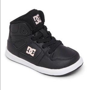 DC Toddler Hightop Shoes